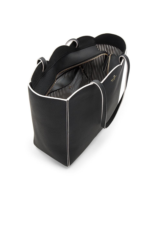 Kate Spade Leather Rainn Tote Bag in Black