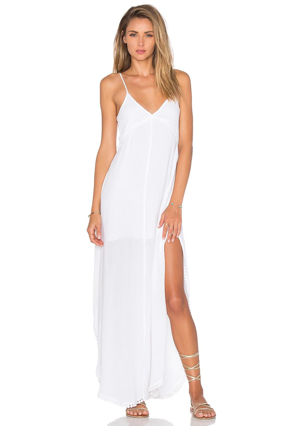 274ab8f63015 Lovers + Friends Curacao Slip Dress in White - Lyst