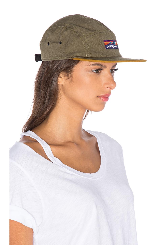 Lyst - Patagonia Board Short Label Tradesmith Cap in Green 309238252ca