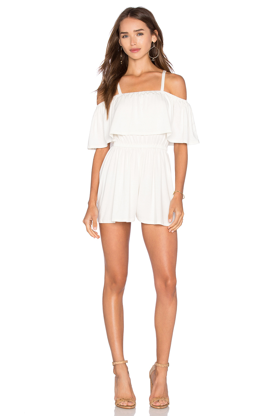 Rachel pally Tobias Playsuit in White | Lyst