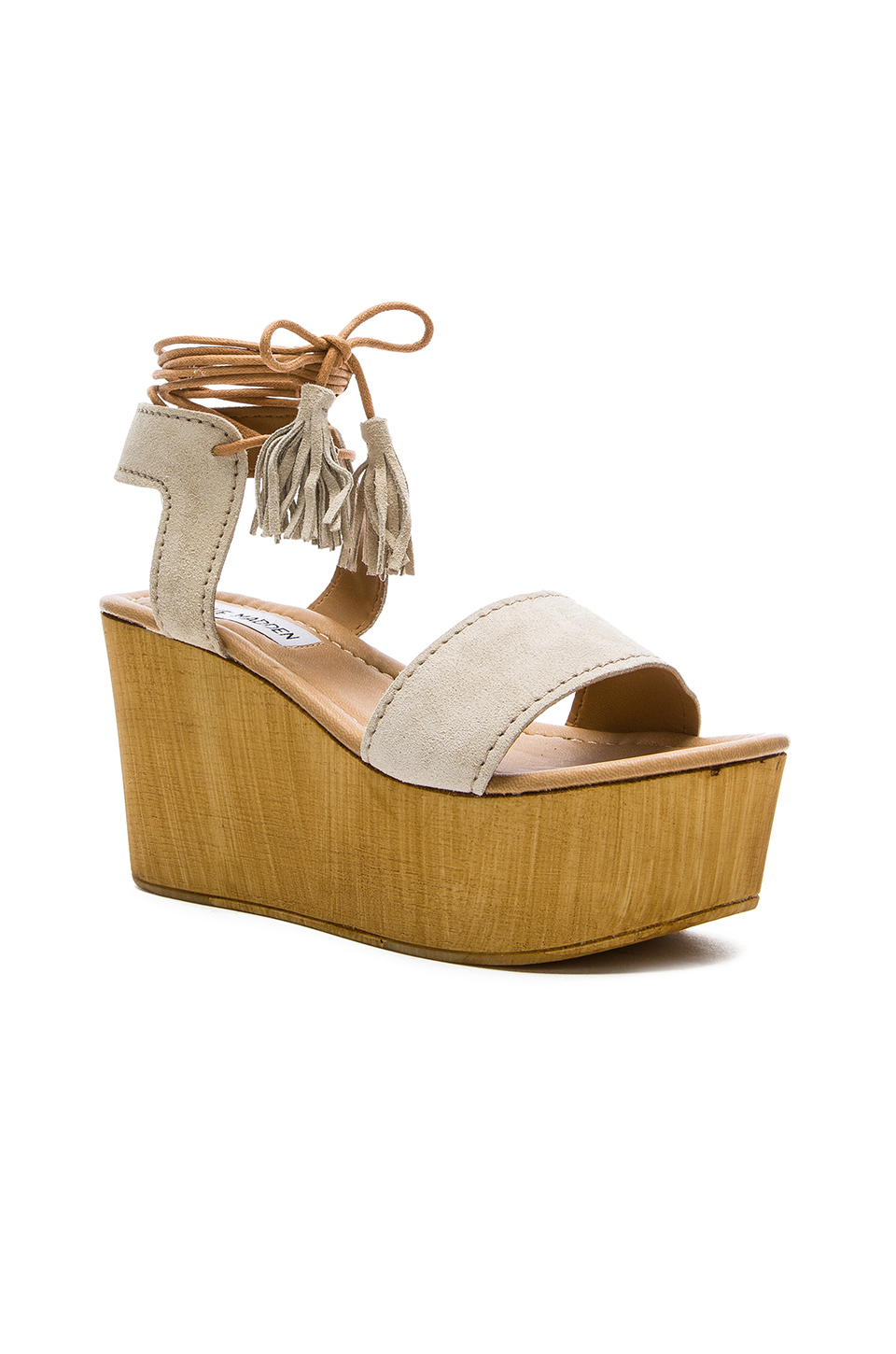 be1905d350f Steve Madden Multicolor Shannon Suede Wedges