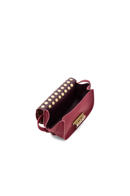 Zac Zac Posen Leather Eartha Iconic Accordion Crossbody Bag