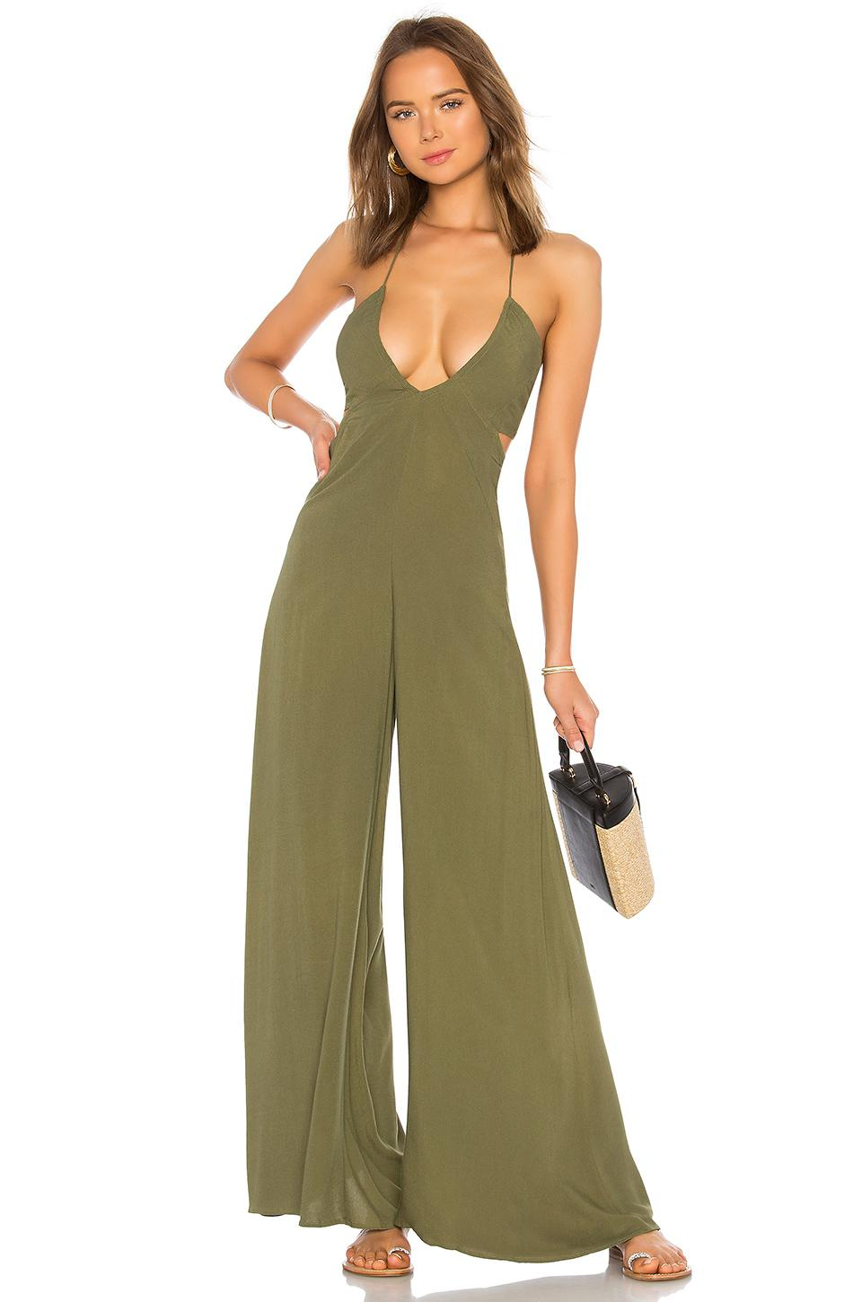 a4a27ccd6aeb Lyst - Indah Jagger Jumpsuit in Green