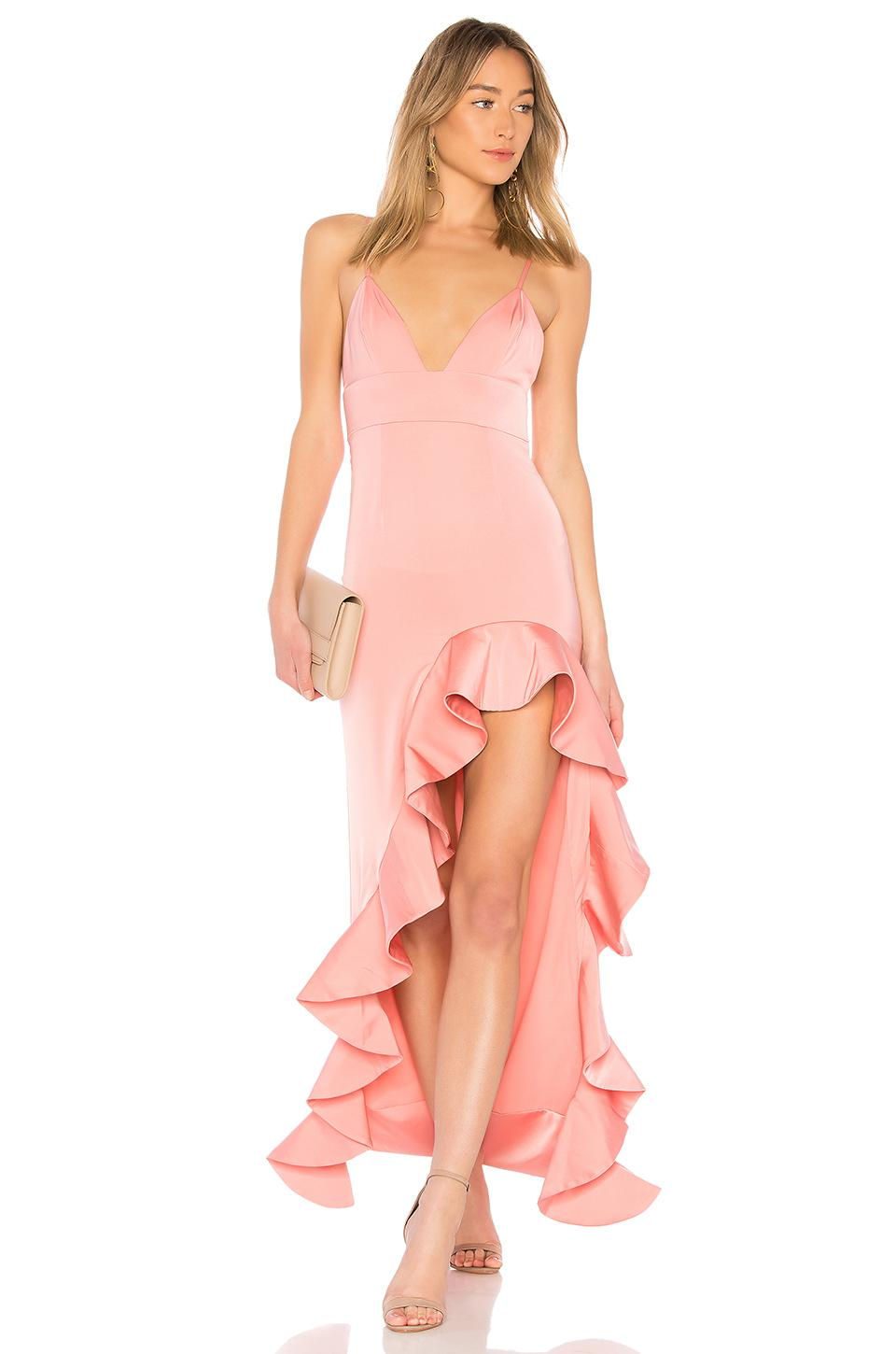 Lyst Lovers Friends Ahamani Gown In Rose In Pink