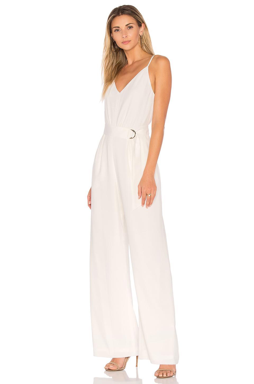 767ec80433a Lyst - JILL Jill Stuart Wide Leg Jumpsuit in White