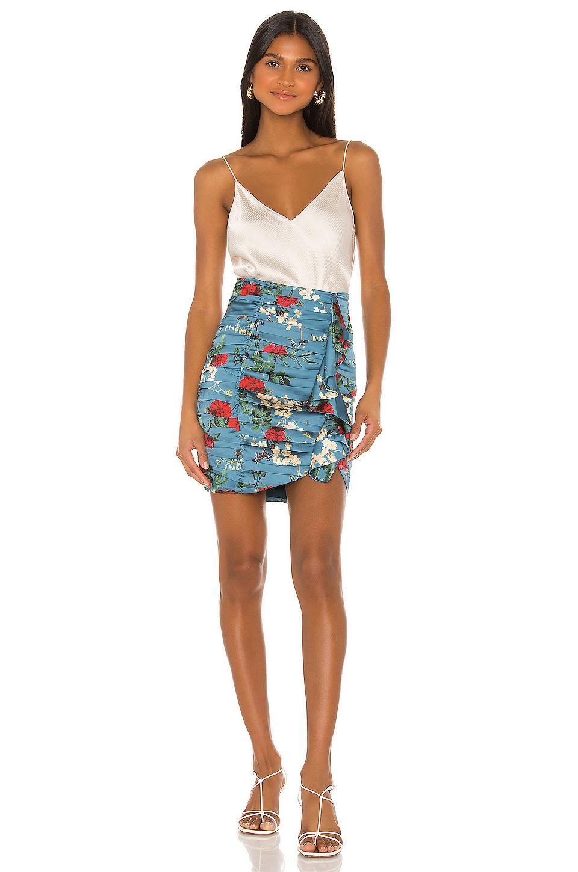 Minifalda rory Song of Style de Tejido sintético de color Azul