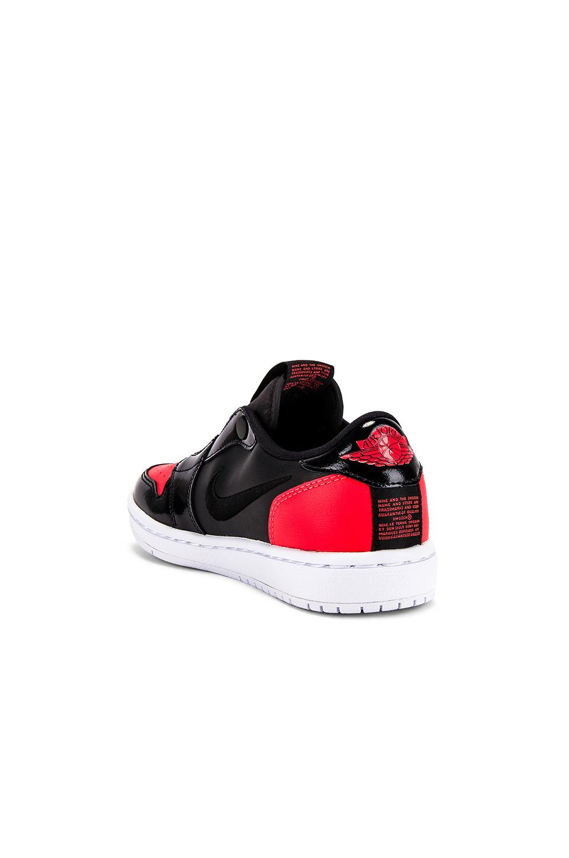 SNEAKERS AJ 1 LOW Cuir Nike en coloris Noir oNfY