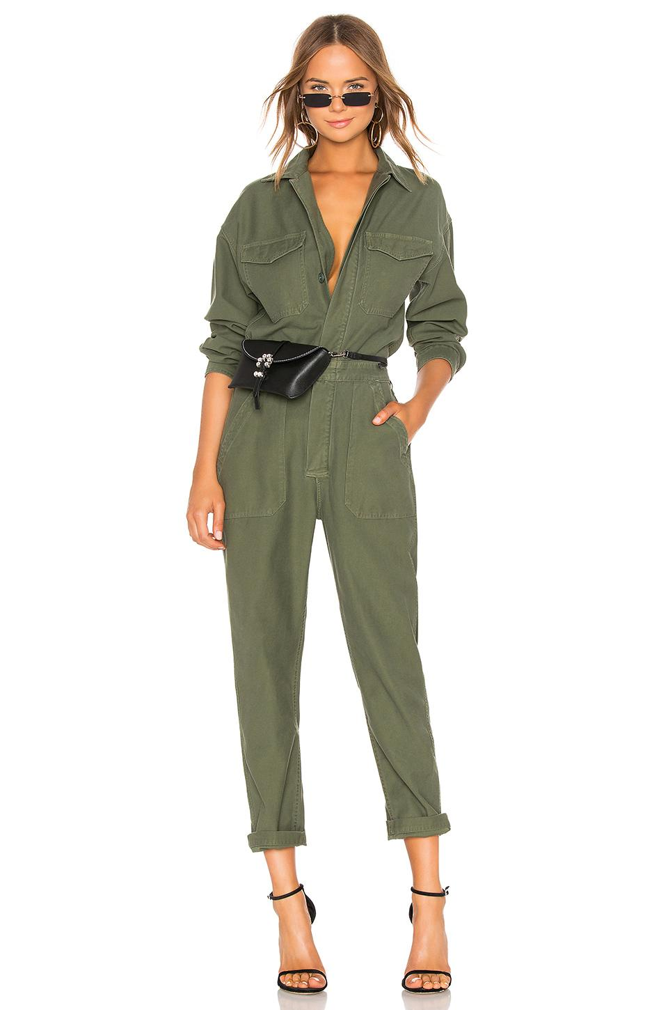 d0a5524c794 Lyst - Citizens of Humanity Marta Jumpsuit in Green