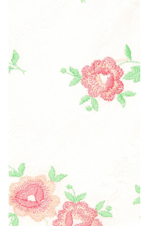 Minivestido con adornos samson X By NBD de Encaje de color Blanco