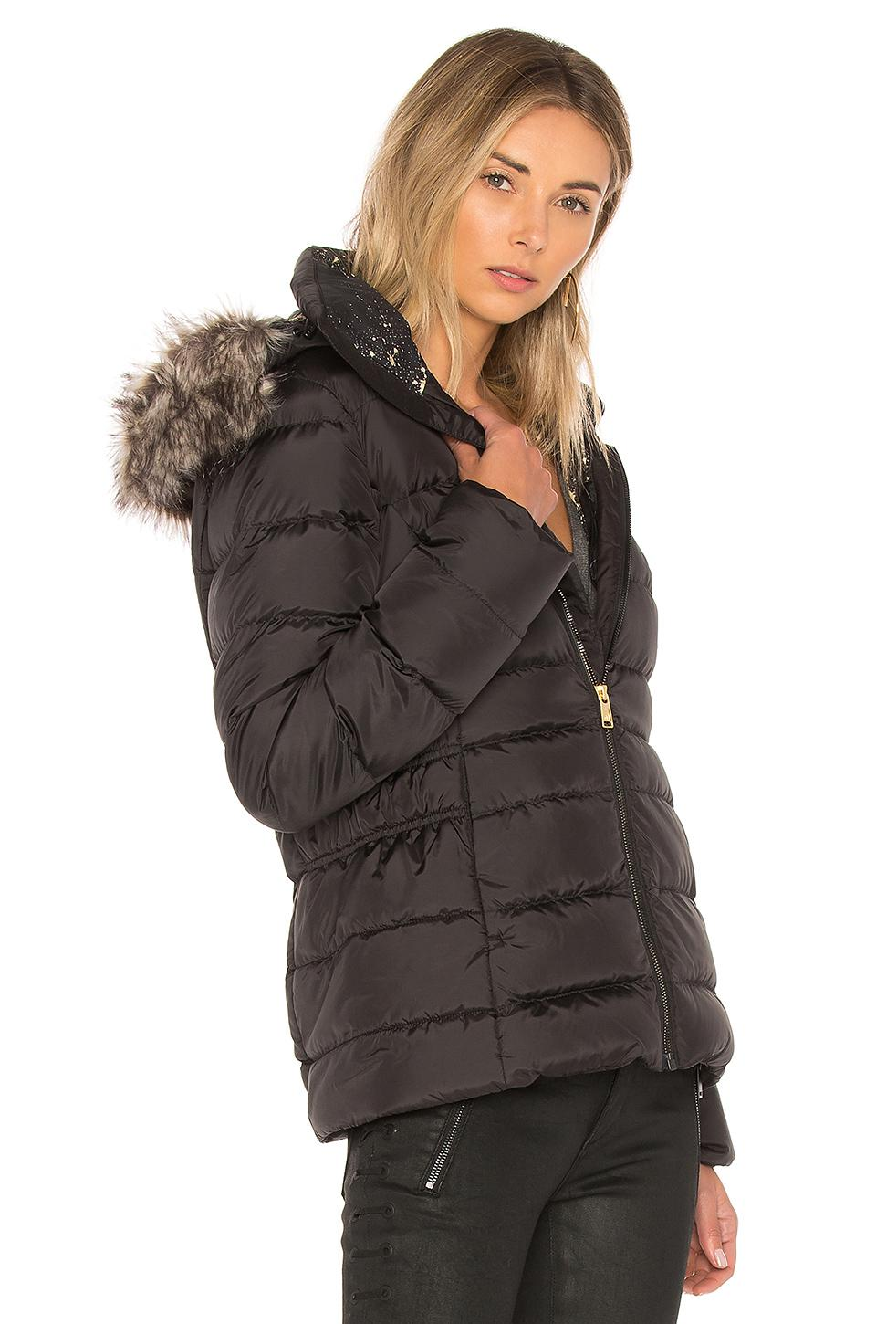 70d6f2c4e The North Face Black Gotham Jacket Ii With Faux Fur Trim
