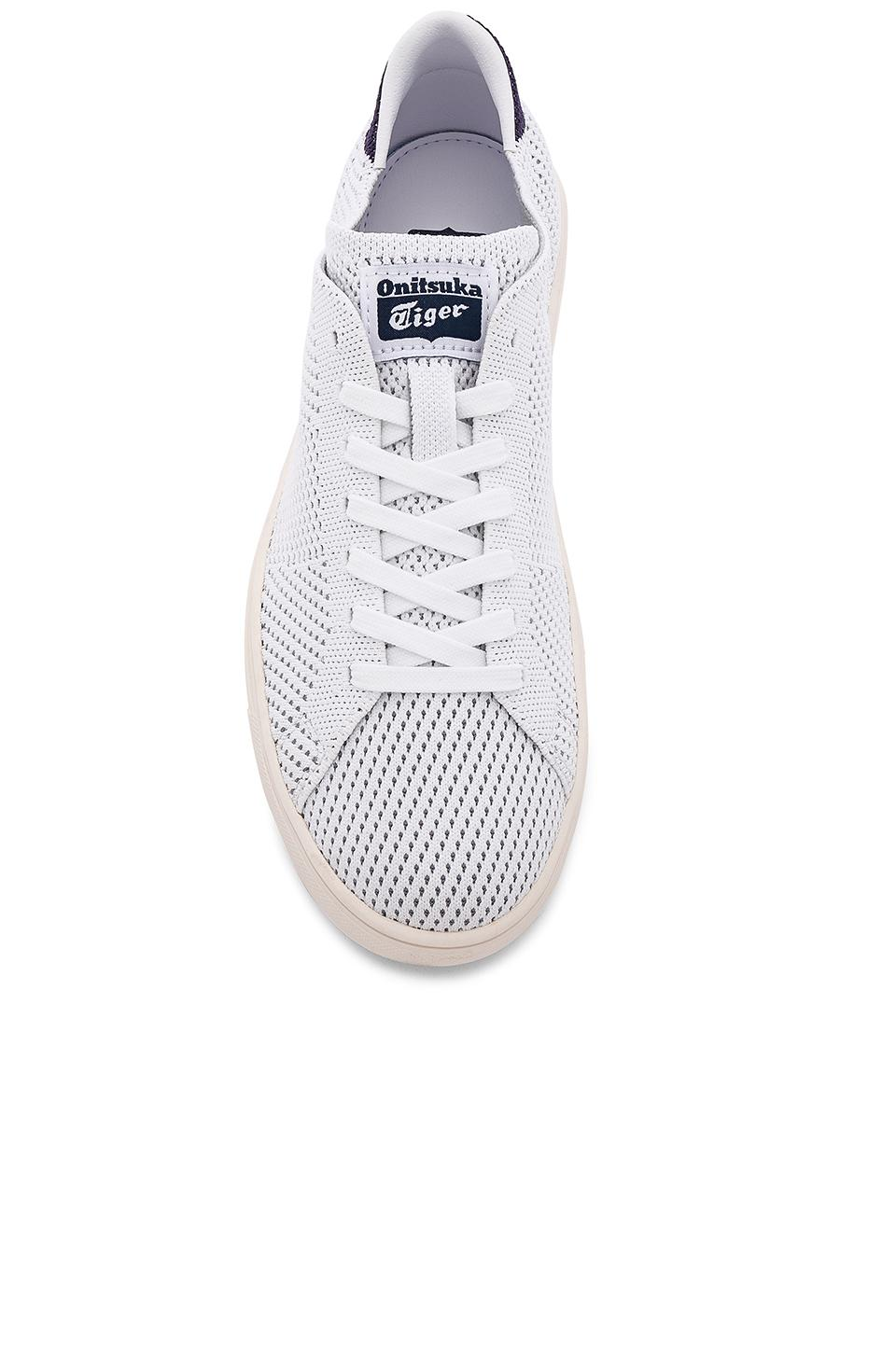 cheap for discount 479f3 73c87 Onitsuka Tiger White Lawnship 2.0 Knit for men