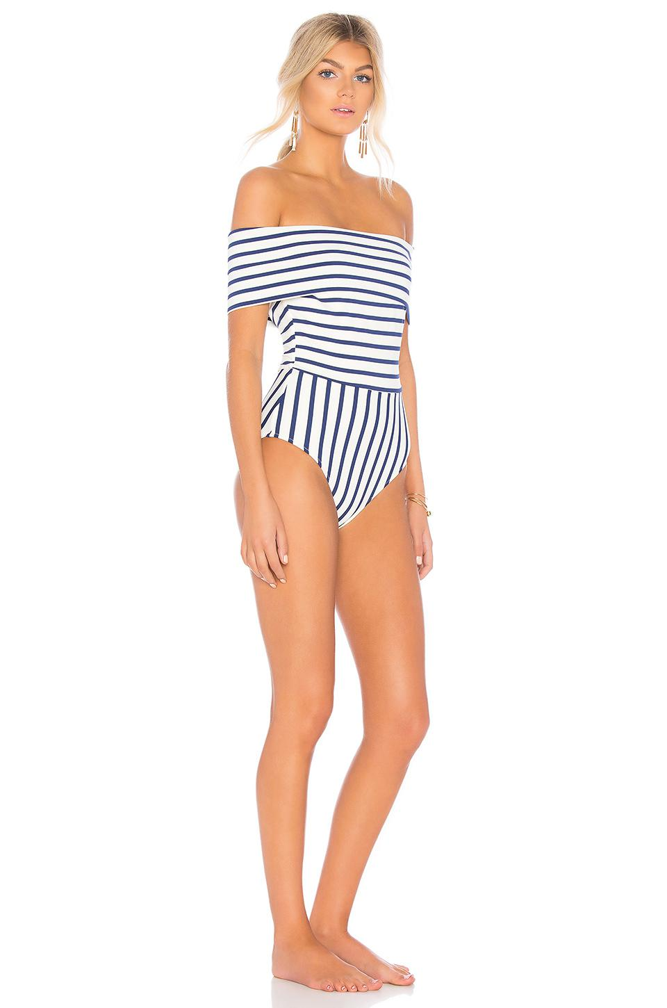 d0efc717474 Lyst - Solid & Striped The Vera One Piece in Blue