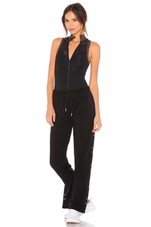 84b75e92ae4 Lyst - Beyond Yoga Soleil Bodysuit in Black