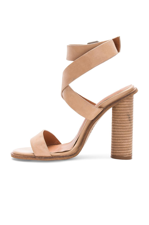Zapatos de tacón color nude abaala Alias Mae de Cuero de color Neutro