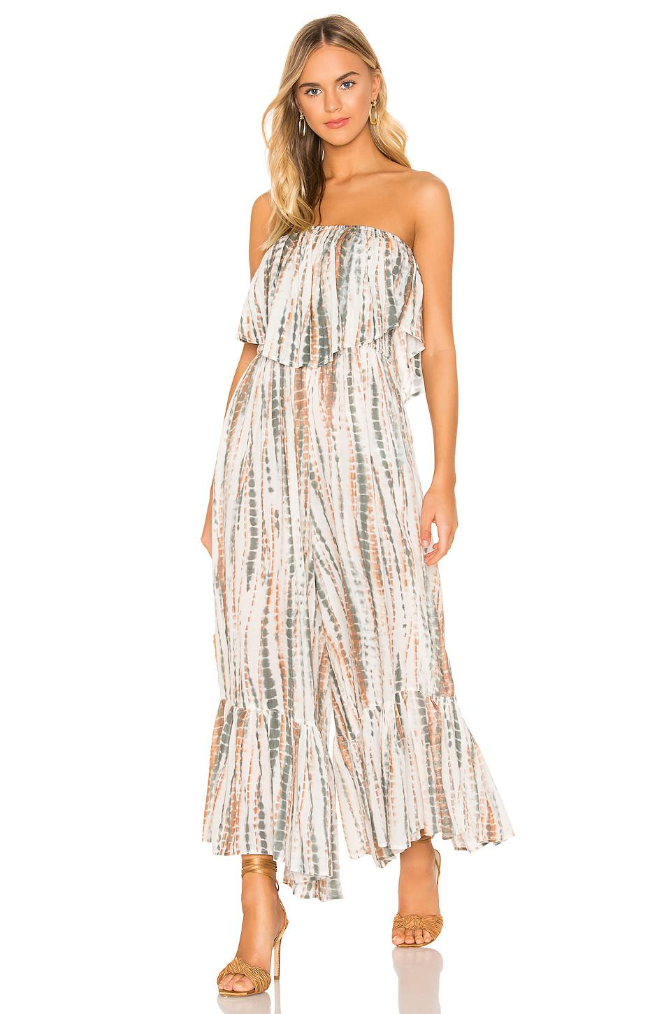 dbc1051b92f Free People - White Summer Vibes Tube Jumpsuit - Lyst. View fullscreen