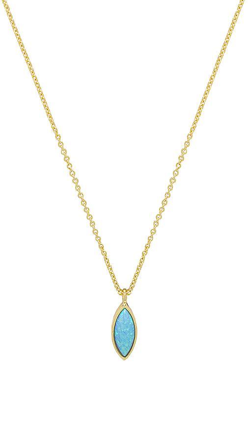 Rumi Burst Adjustable Necklace in Metallic Gold Gorjana QaZt0
