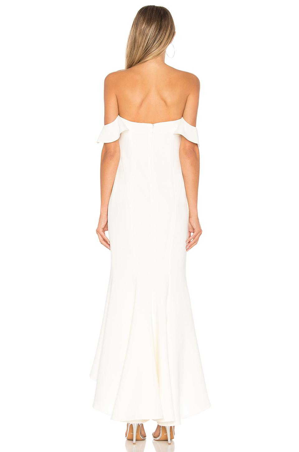 a066bd35f333 Likely Sunset Gown in White - Lyst