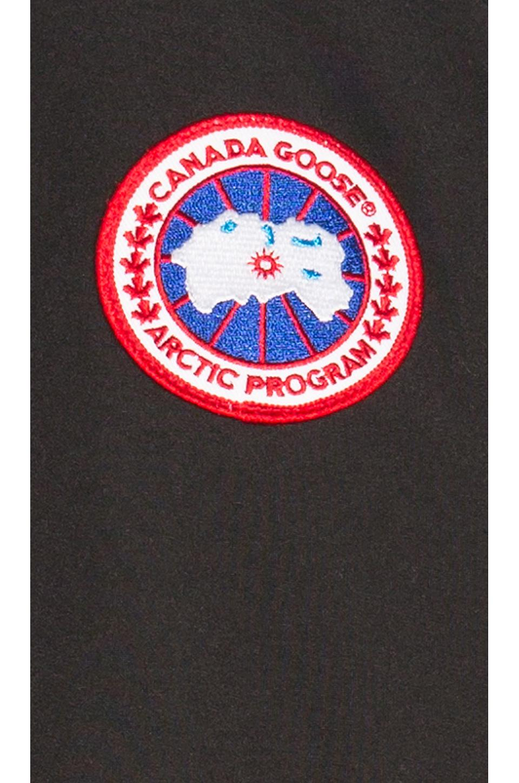 canada goose parka black badge