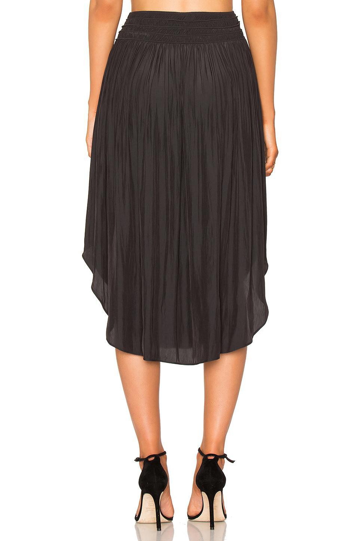7b49f70b422 Lyst - Ramy Brook Tommie Skirt in Black