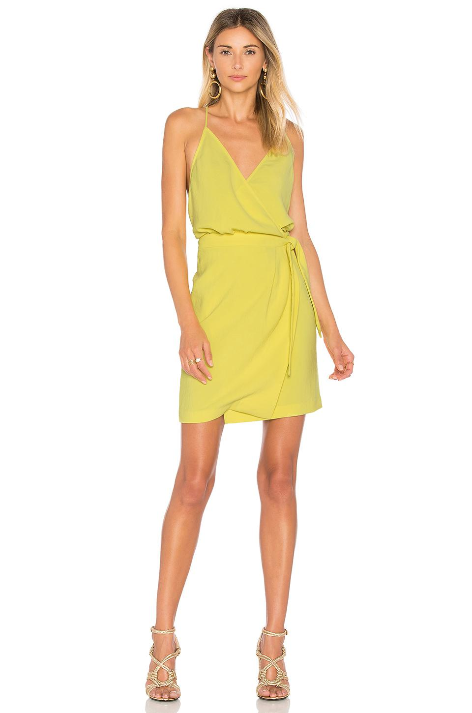 Ba Amp Sh Cotton Justine Dress In Yellow Lyst