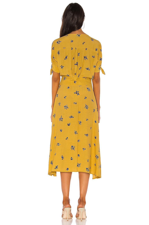 5ba046f99fa2 Faithfull The Brand Billie Midi Dress in Yellow - Save 7% - Lyst