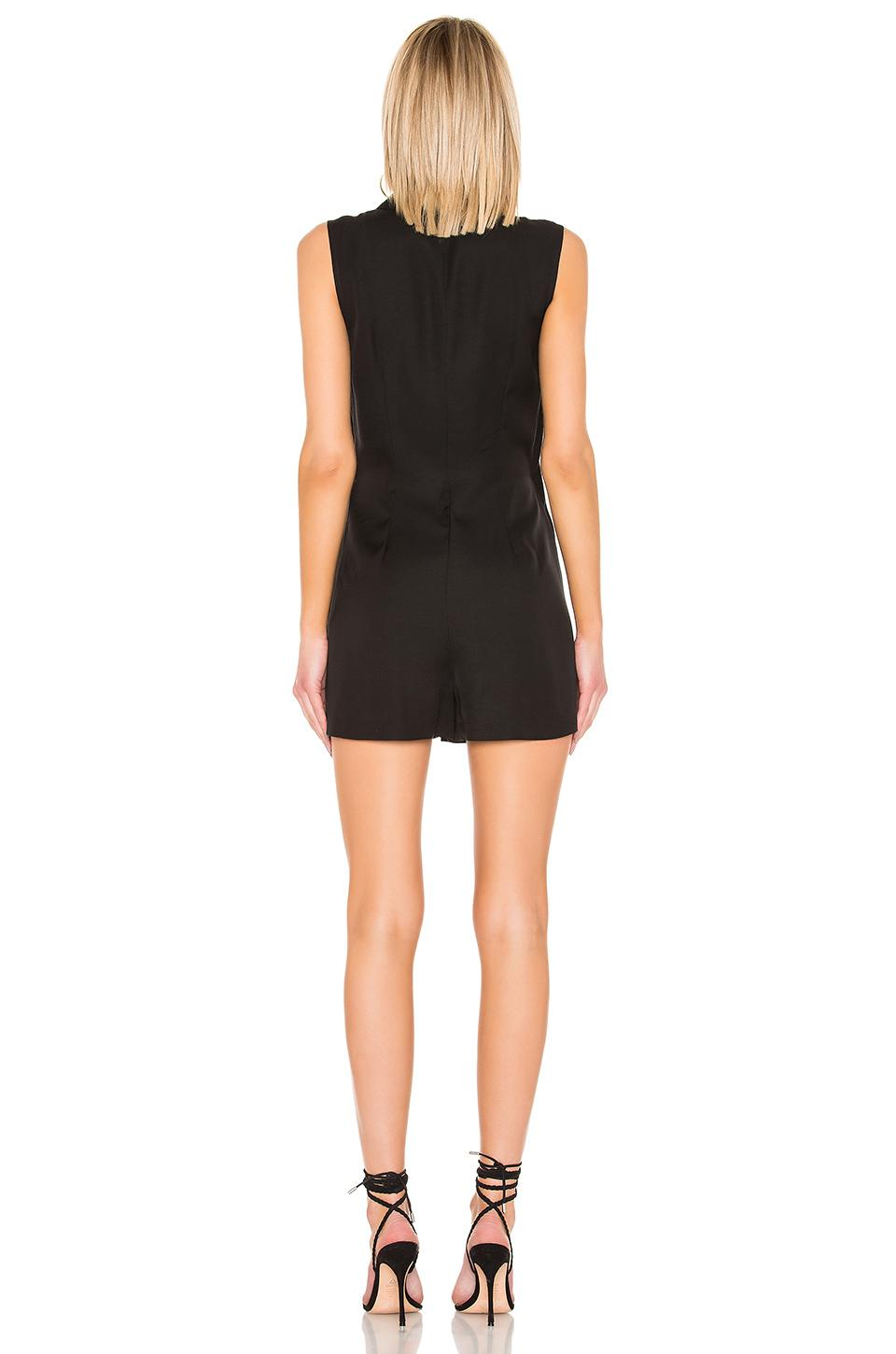 The julie romper L'academie de Denim de color Negro