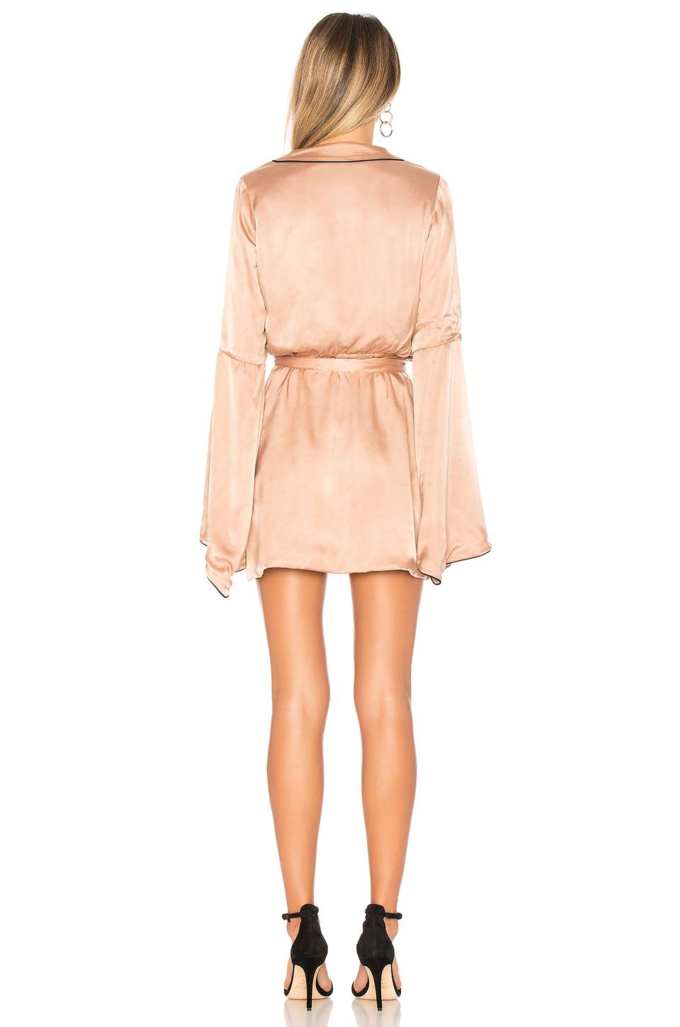 House Of Harlow 1960 X Revolve Amos Dress In Natural Lyst