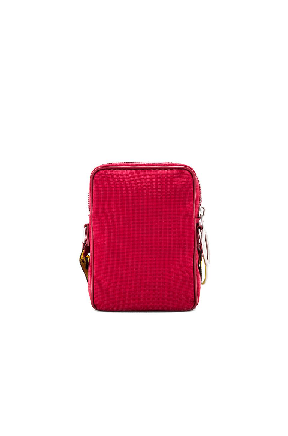 Off-White c/o Virgil Abloh Synthetic Arrows Crossbody in Bordeaux & White (Red)