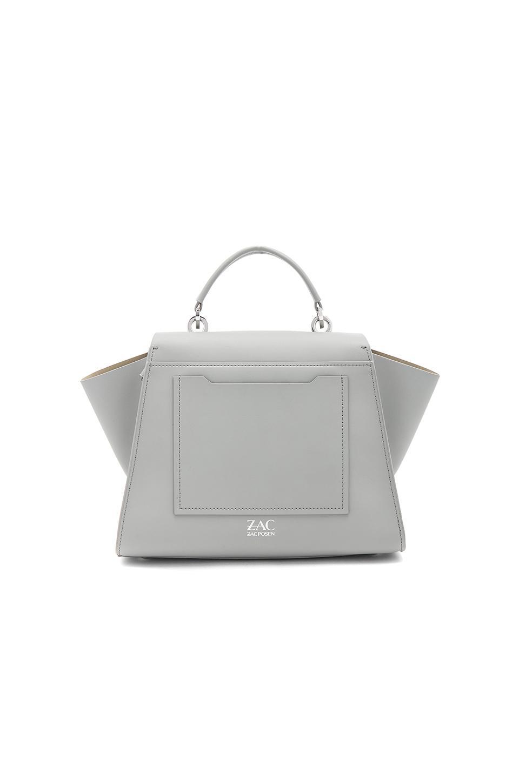 Zac Zac Posen Leather Eartha Iconic Soft Solid Top Handle