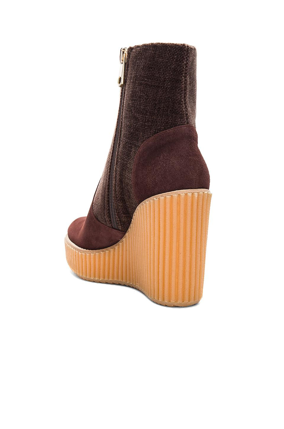 7ded420d6f07 Lyst - Castaner Quilmes Wedge in Brown