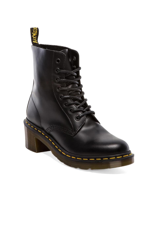 Clemency 8-tie boot Dr. Martens de color Negro