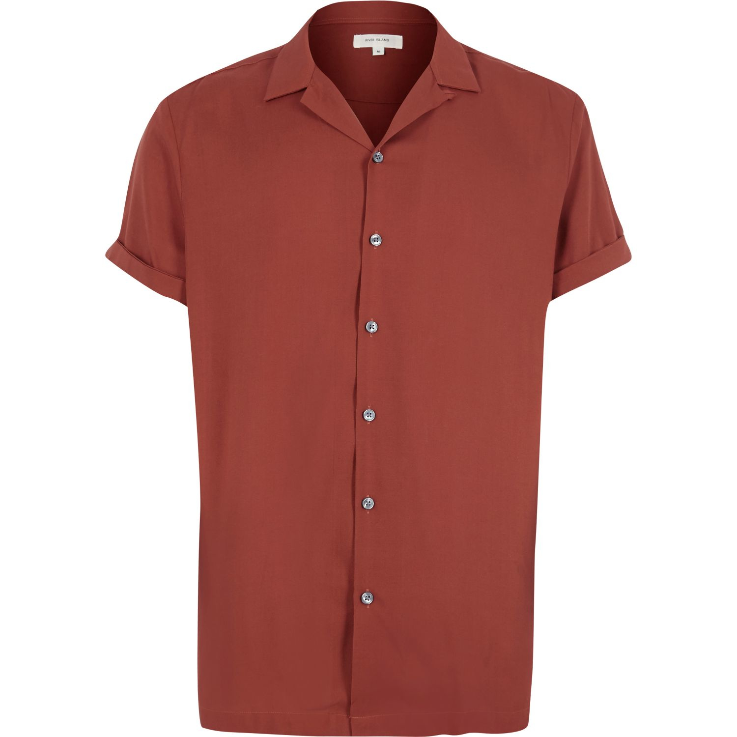 Red Collared Shirt Womens