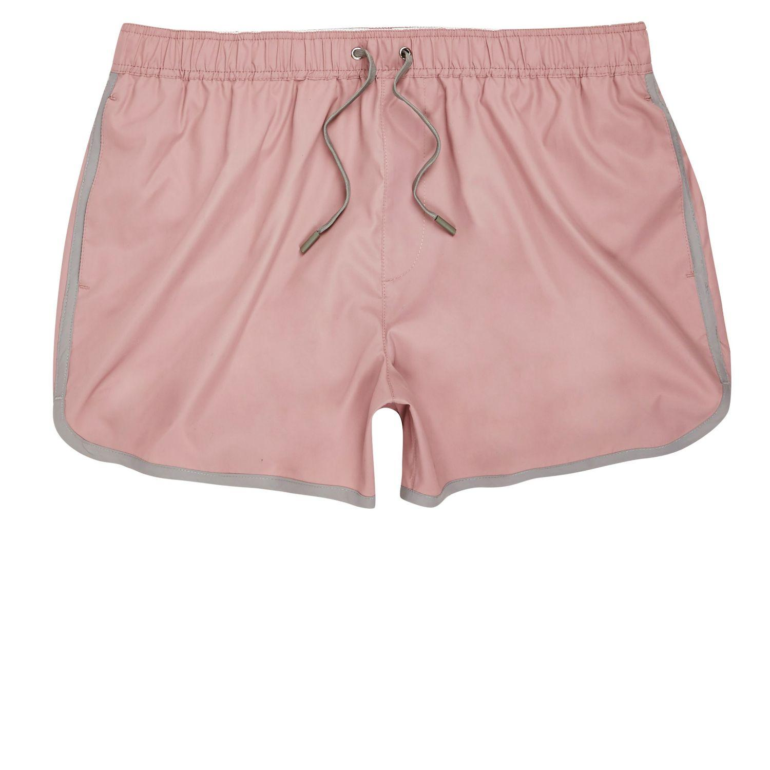 Men's Swim Shorts & Swimming Trunks 44 results 1 Nike Outline Logo Pink Swim Shorts Freshen up your swim shorts and swimming trunks for summer with our edit, featuring styles from adidas, Calvin Klein, Urban Renewal Vintage, Tommy Hilfiger, Farah and more.