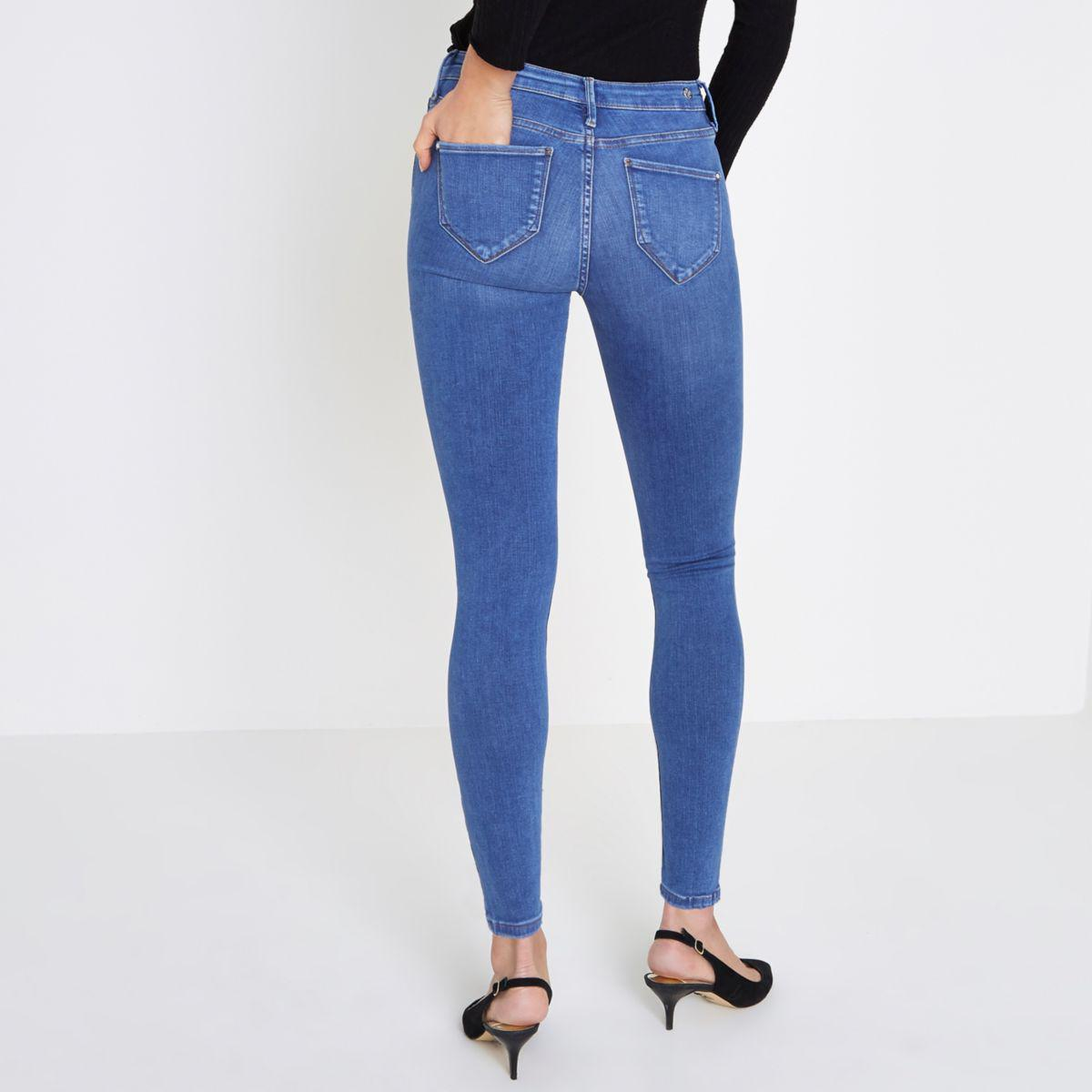 River Island Blue Molly Jeans