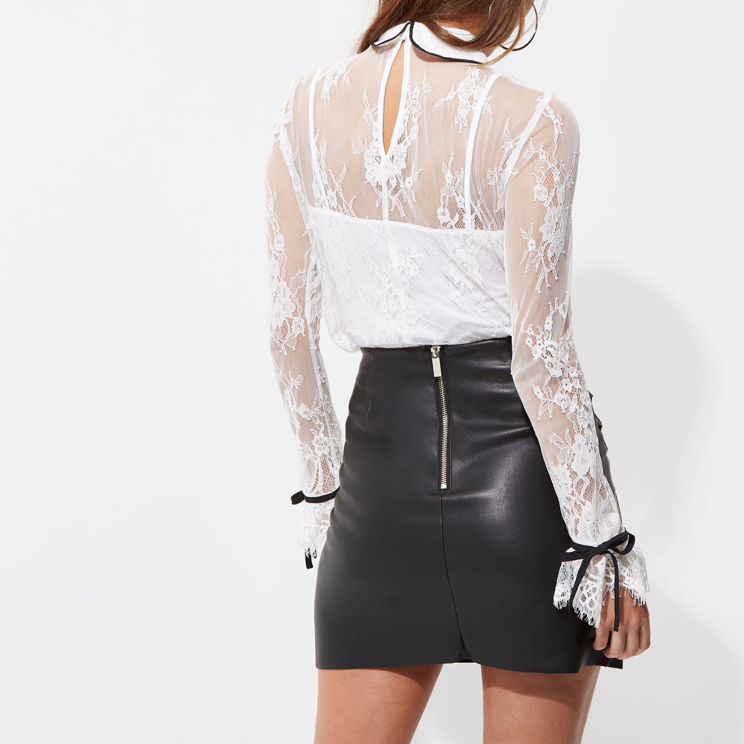 f1927299ae Find great deals on eBay for mini leather skirt. Shop with confidence. River  Island ...