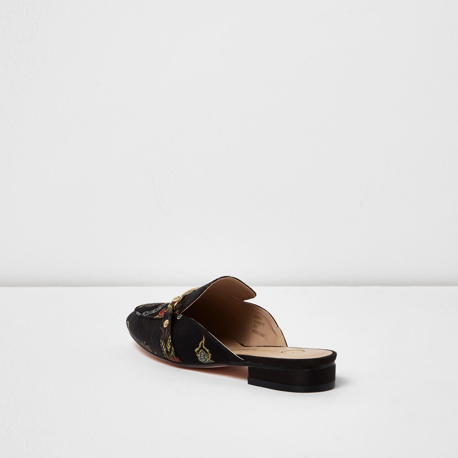 River Island Backless Loafers