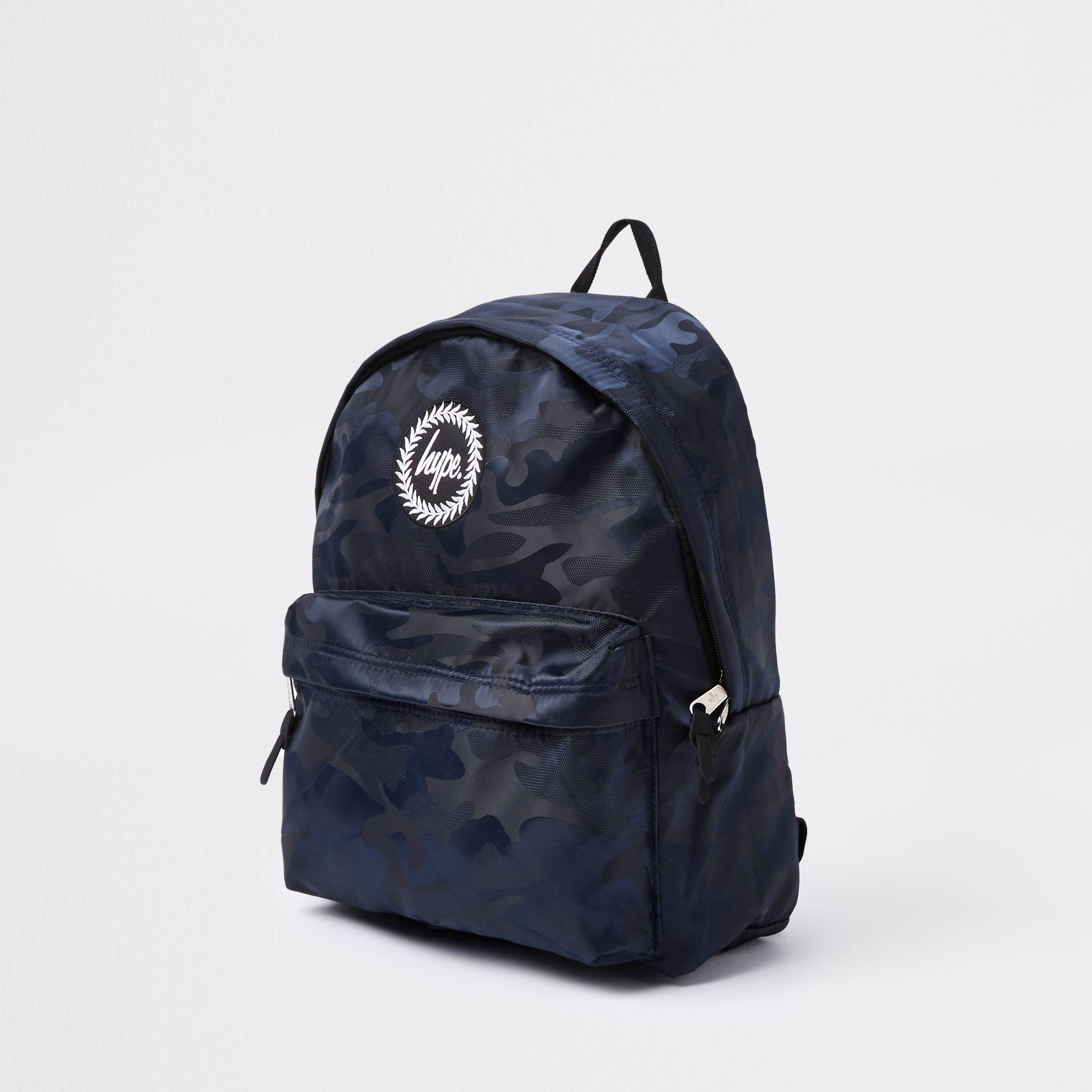 ea5bfc7f53 Hype Navy Camo Fade Backpack – Patmo Technologies Limited