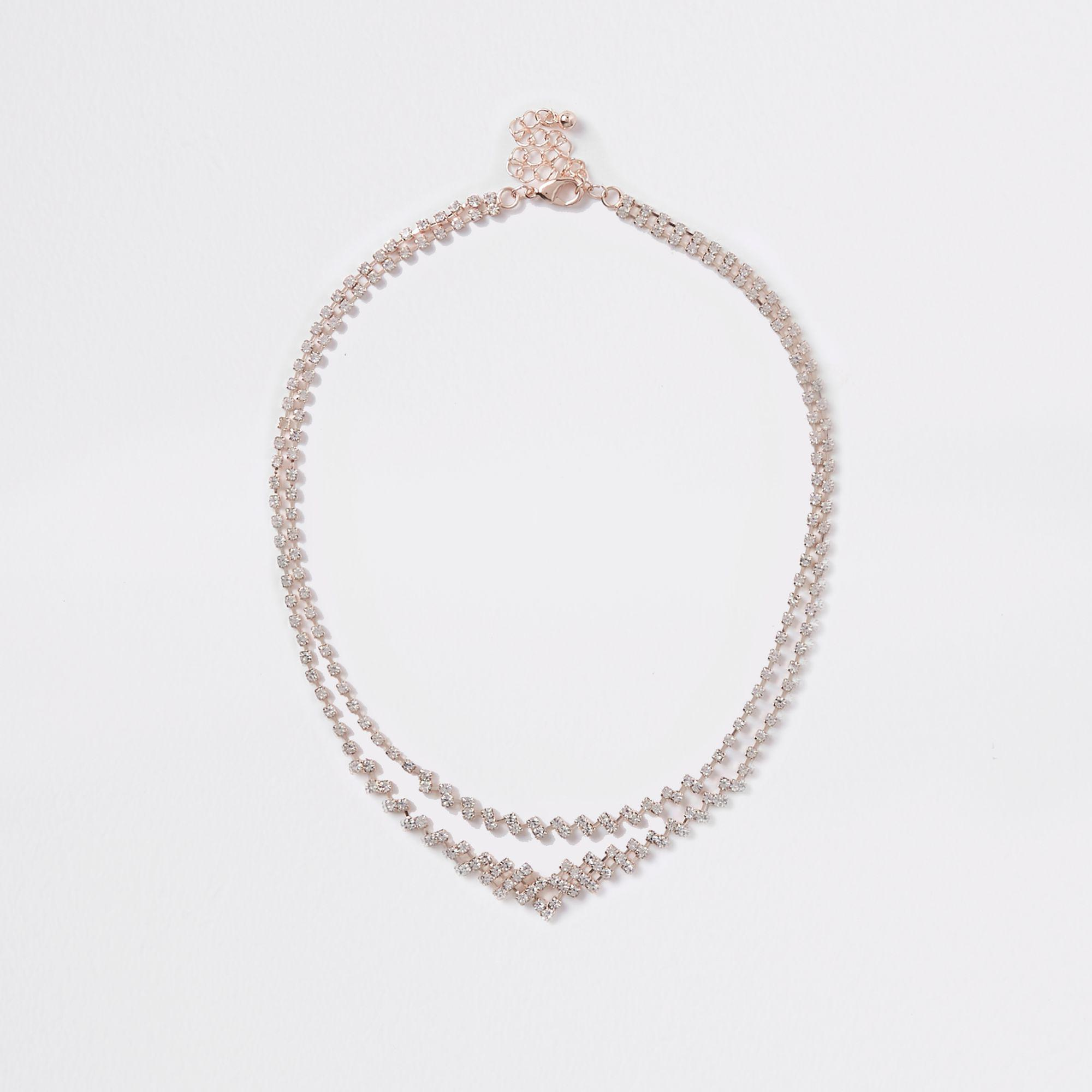 Sterling sep Tennis Full CRYSTAL Belly Body Chain