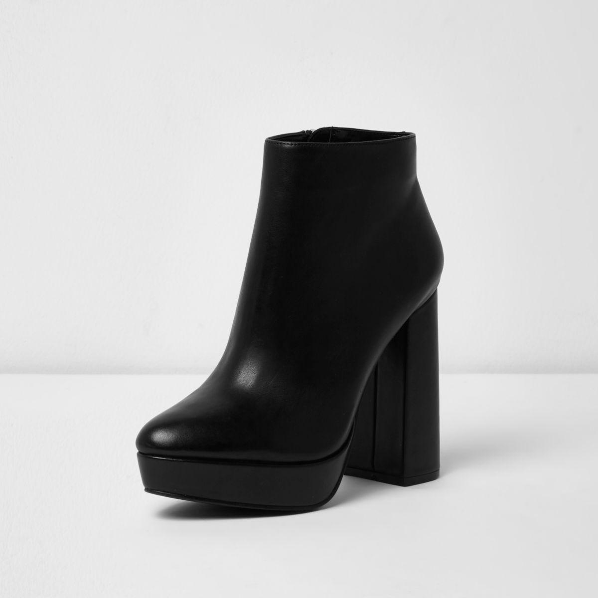 Black Bootie Shoes Forever