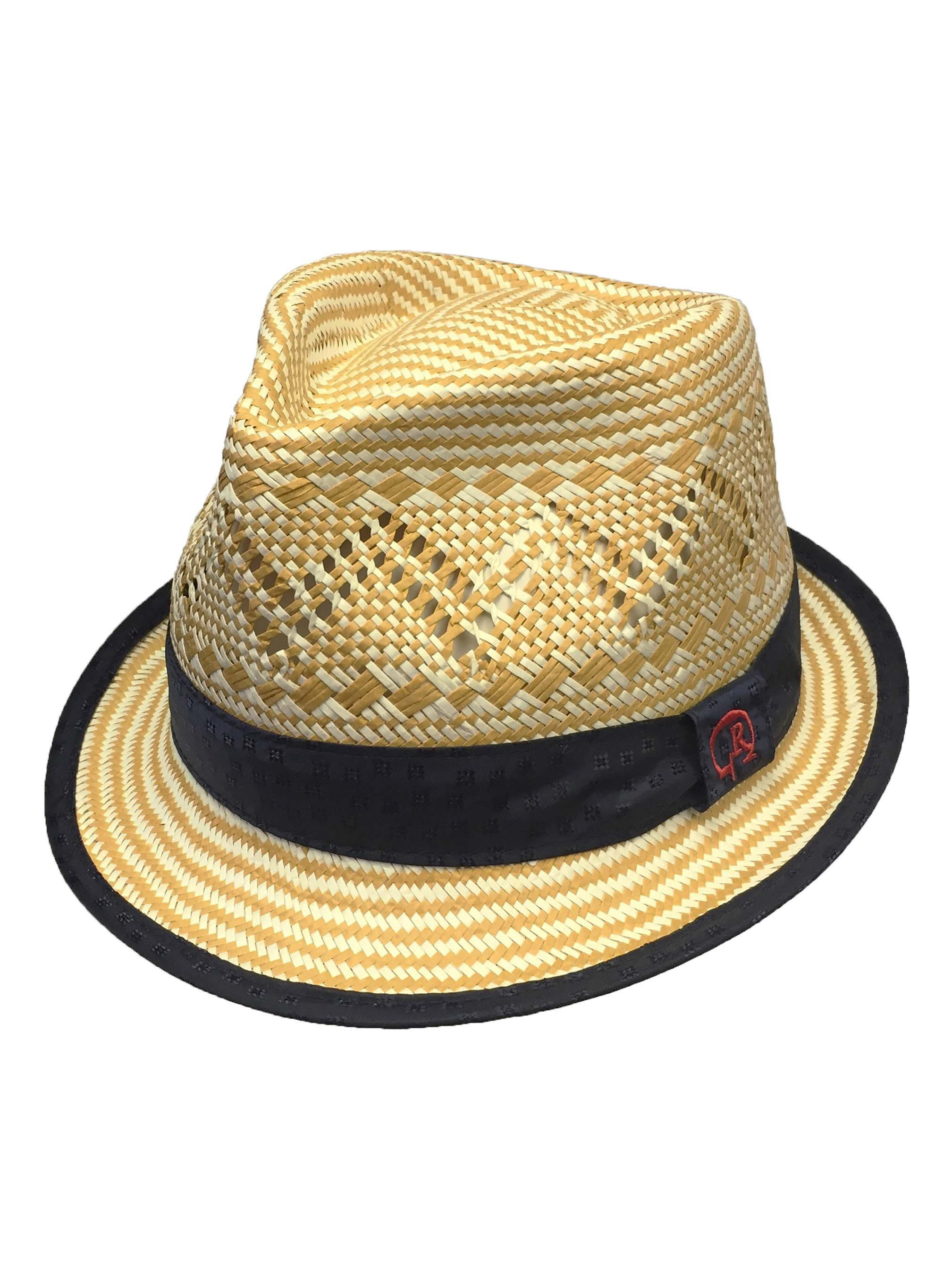 cf74f2b20b0d30 Robert Graham Goliard Straw Fedora Hat in Brown for Men - Lyst