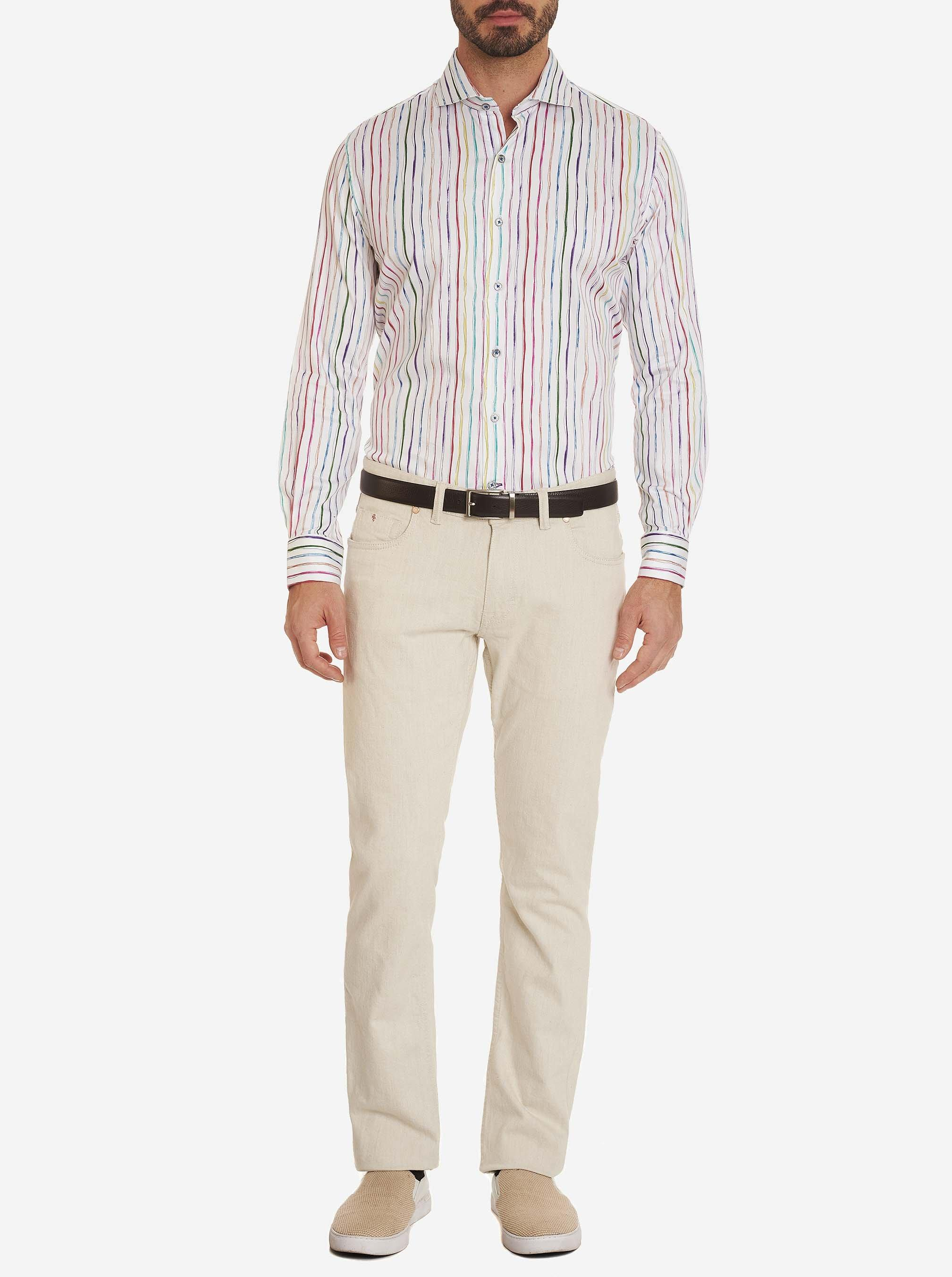 Robert Graham Cotton Powers Dress Shirt For Men Lyst