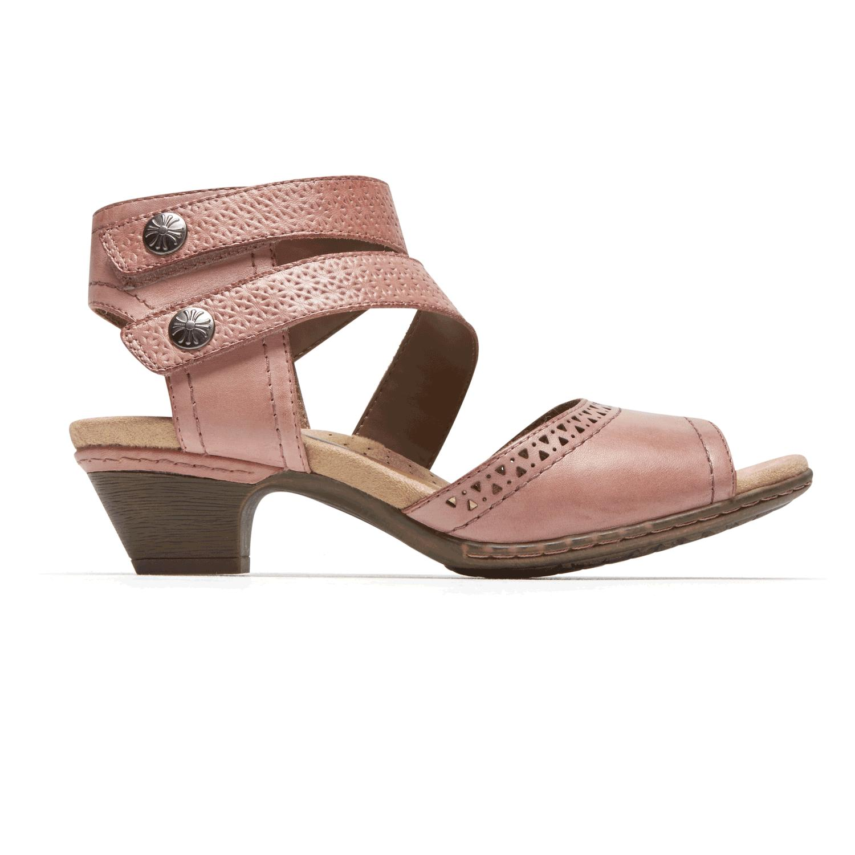 c64821296 Lyst - Rockport Cobb Hill® Abbott Cuff Strap Sandal in Pink