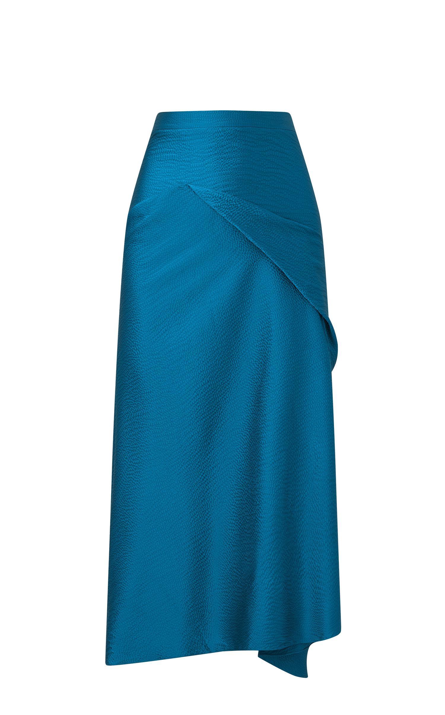 Roland mouret Lathbury Skirt in Blue