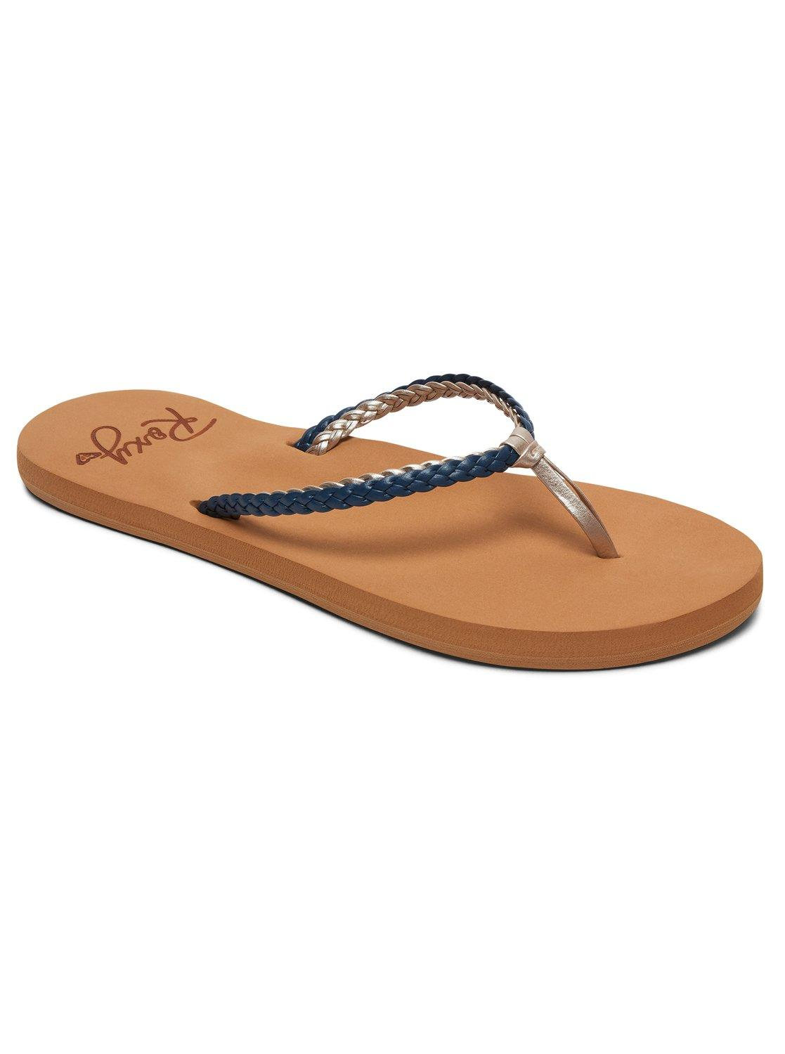 e0be051228ede Roxy Costas Sandal Flip-flop in Blue - Lyst
