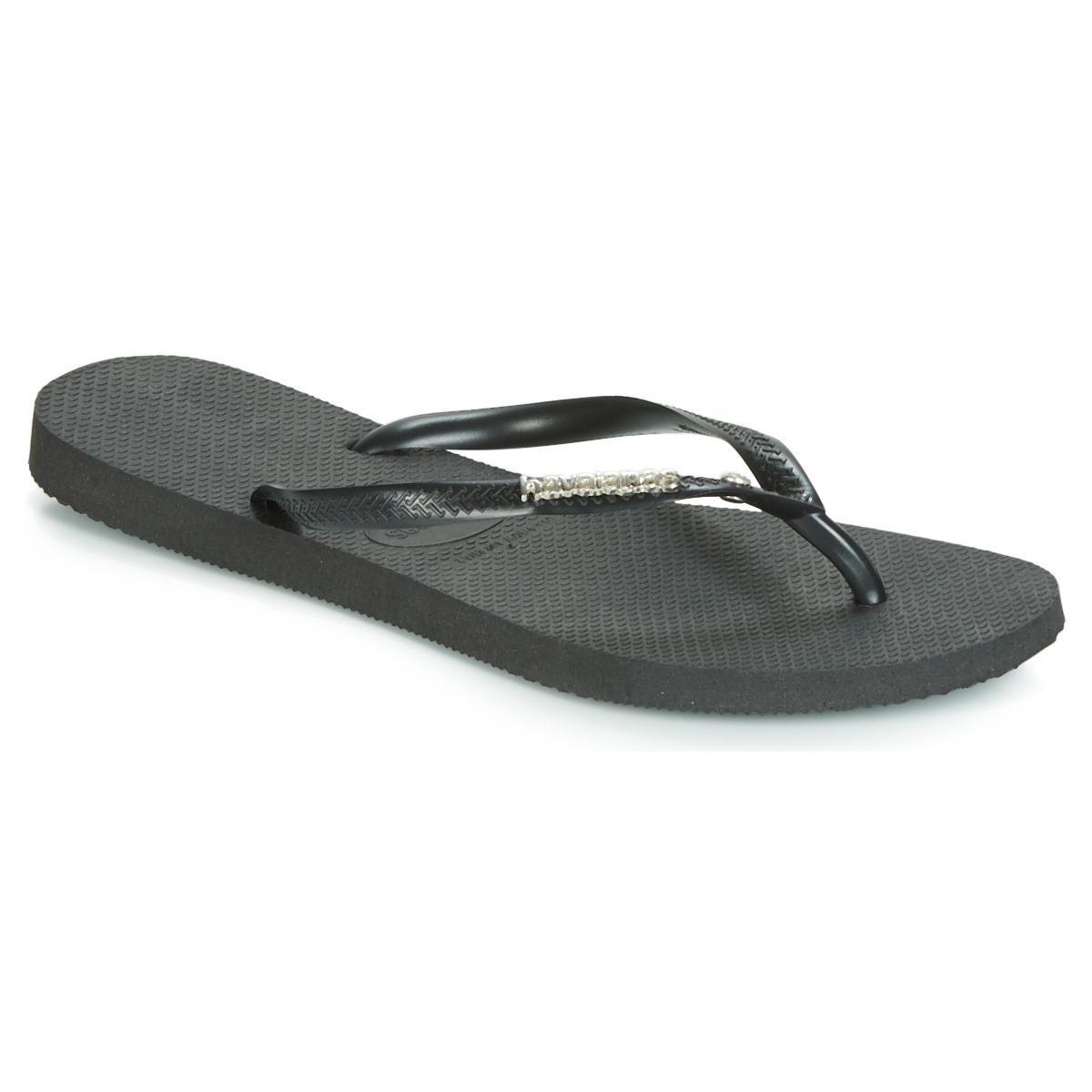 dc2f411240f0 Havaianas Slim Logo Metallic Crystal Flip Flops   Sandals (shoes) in ...