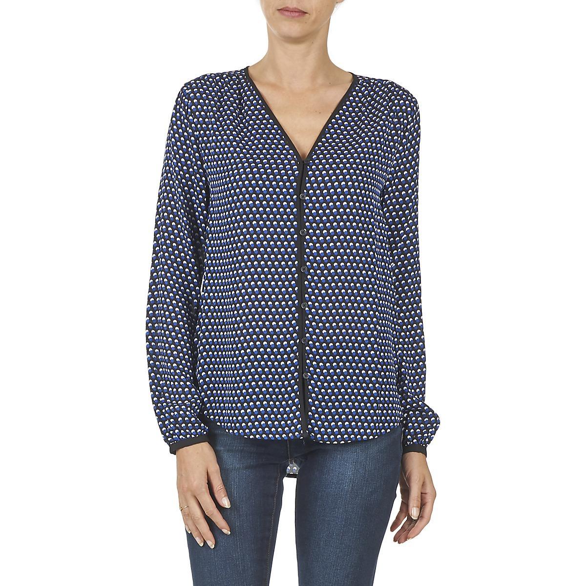 MICHAEL Michael Kors Jonda Shirt in Blue