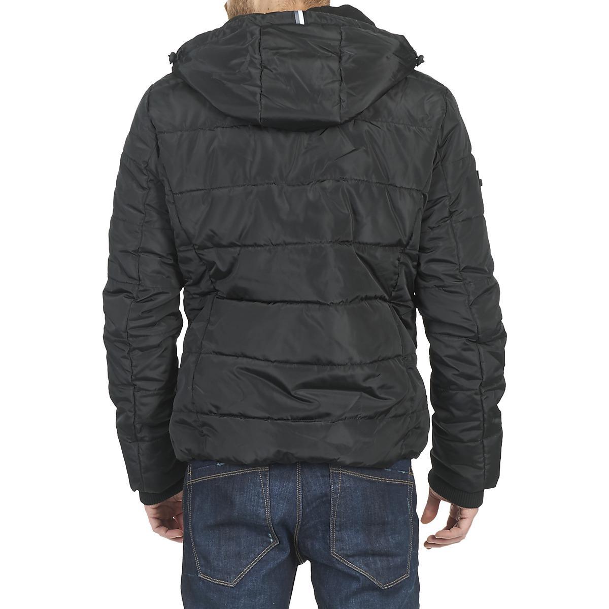 Superdry Synthetic Polar Jacket in Black for Men