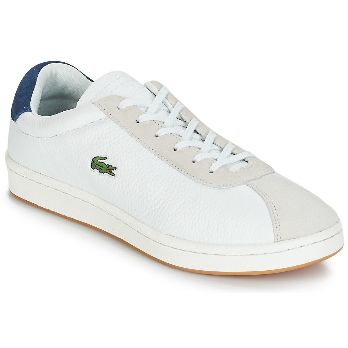 62fc2c1f2 Lacoste Masters 119 3 Shoes (trainers) in White for Men - Lyst