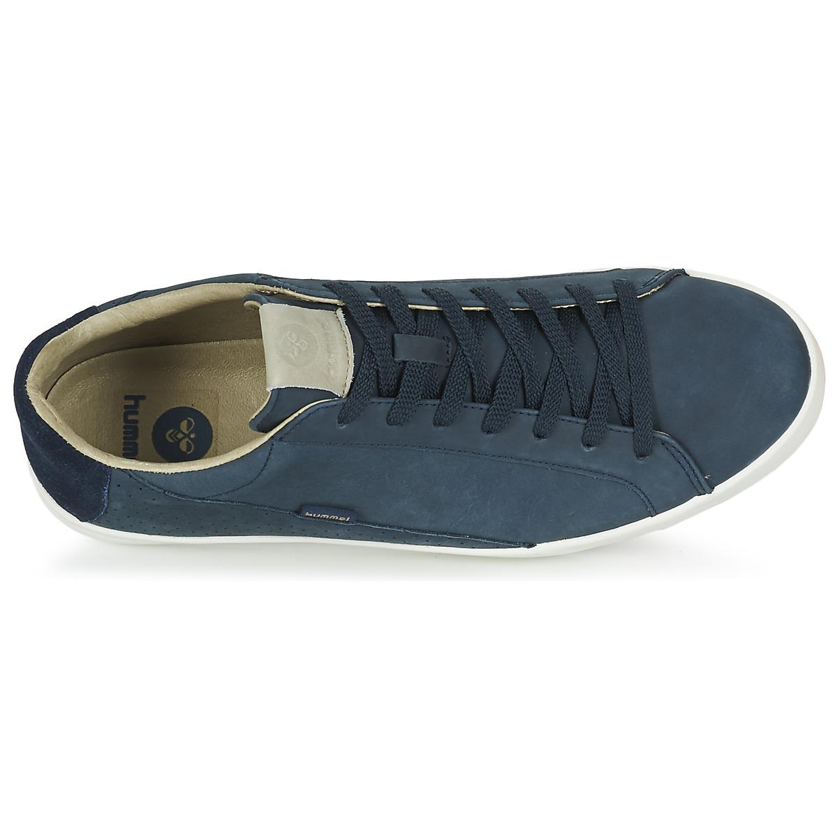 Hummel Cross Court Nubuck Shoes (trainers) in Blue