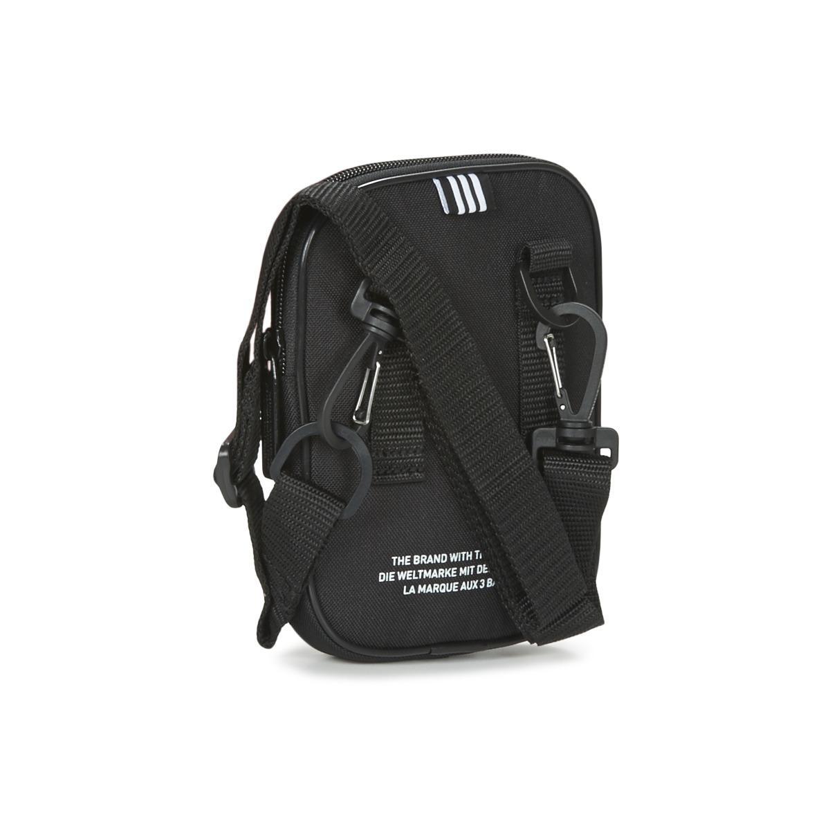 adidas Synthetic Adi Festival Trefoi Bag in Black